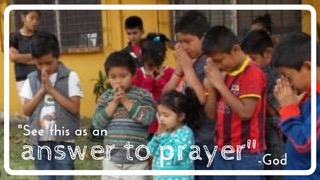 3 answer to prayer