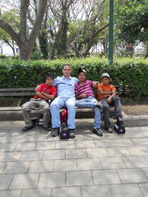 Jesse and the boys (Gregorio, Martin, Juan Carlos)