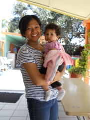 Holding little ones always makes us smile!