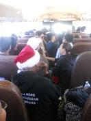 Busload of volunteers!