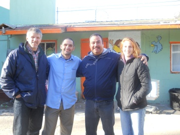 The Board with Pastor Jose at Casa Hogar Belen orphanage in Tijuana, Mexico.
