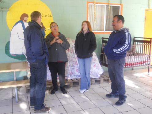 Directors Learning about Casa Hogar Belen.