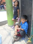 Children who live on the edge of Guatemala City's massive dump!
