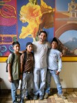 Jesse with Juan Carlos, Gregorio, and Martin